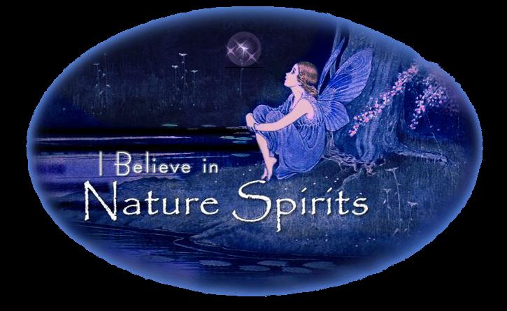 I Believe In Nature Spirits Logo
