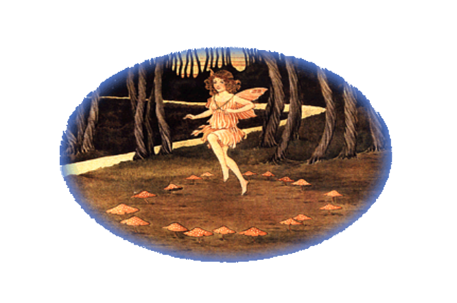 Fairy Dancing in Forest